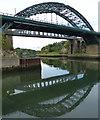 NZ3957 : Bridges across the River Wear in Sunderland by Mat Fascione