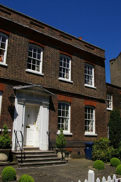 Eighteenth-century house on Hendon Lane