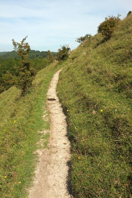 Path along Giant Hill