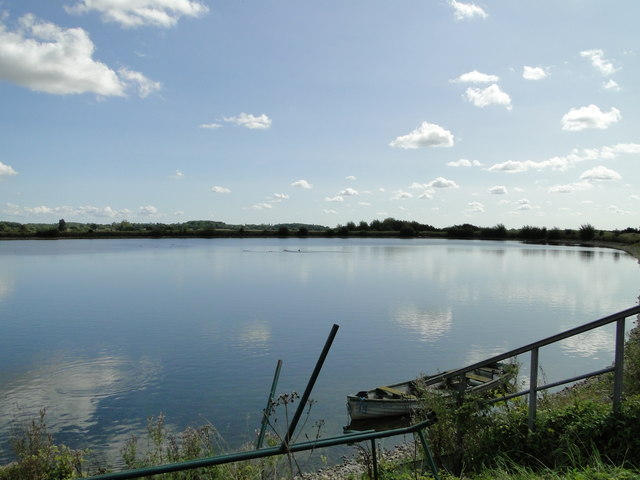 Reservoir at Thorpe Morieux