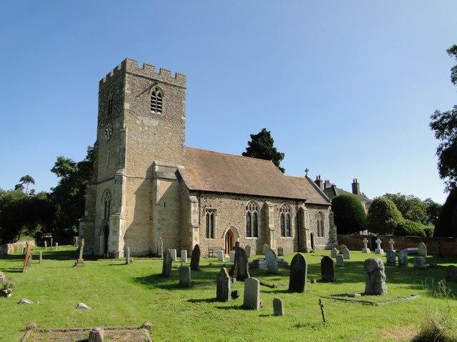 St. Mary's church Higham