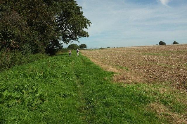 Path near Giant's Head Farmhouse