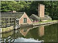 SK3281 : By the mill pond at Abbeydale Industrial Hamlet : Week 35