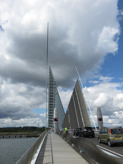 Twin Sails Bridge, Poole