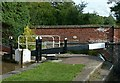 SJ9429 : Sandon Lock, Trent and Mersey Canal by Alan Murray-Rust