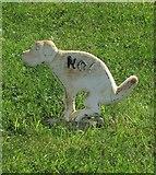 ST6601 : No doggy-dos, Cerne Abbas by Derek Harper