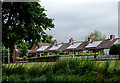 SJ9033 : Housing with solar roof panels in Stone, Staffordshire by Roger  Kidd