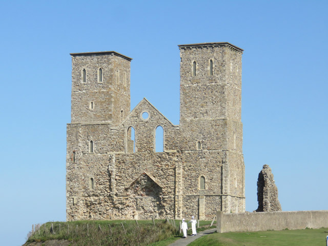 Remains of St Mary's Church, Reculver