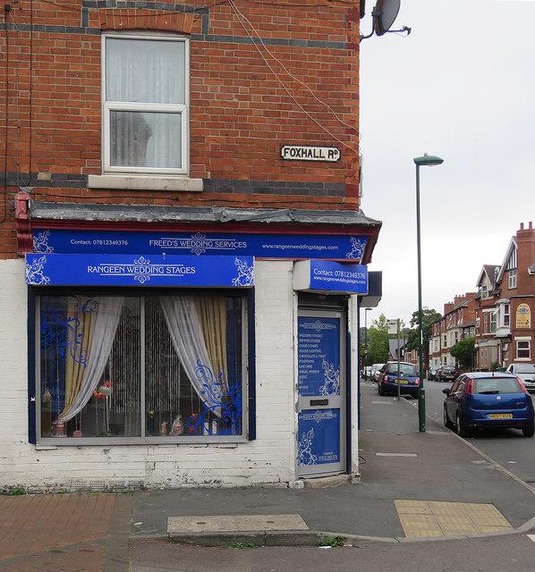 The corner of Foxhall Road and Berridge Road East