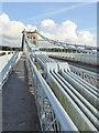 SH5571 : Menai Suspension Bridge by Oliver Dixon