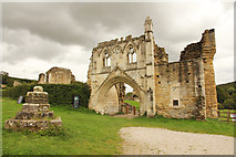 SE7365 : Kirkham Priory Gatehouse by Richard Croft