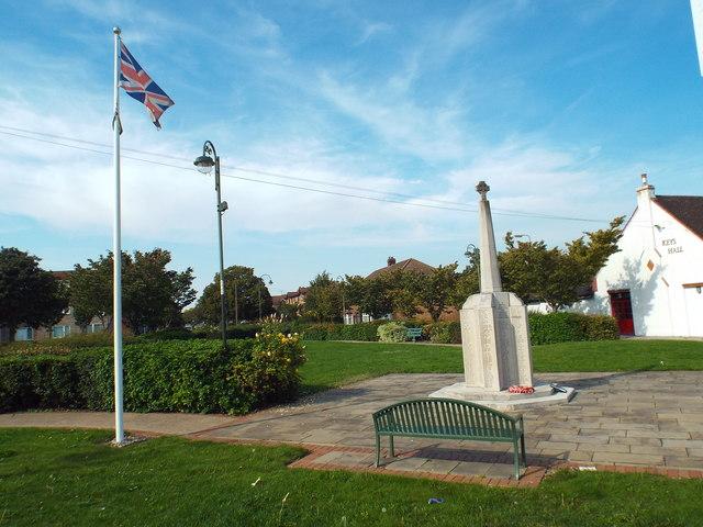 War memorial, Dagenham