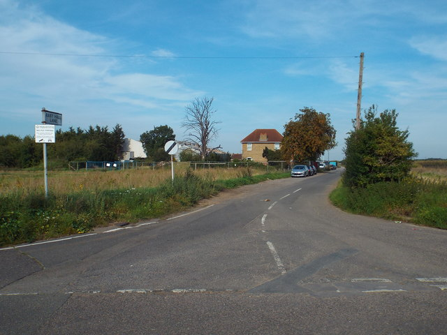 East Hall Lane, near Wennington