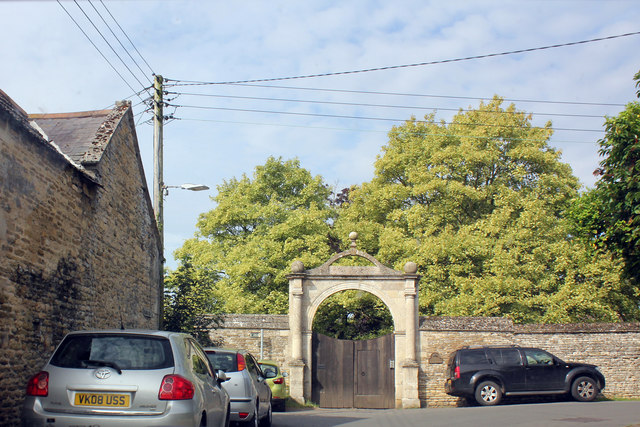 Gateway to North Luffenham Hall, Digby Drive, North Luffenham