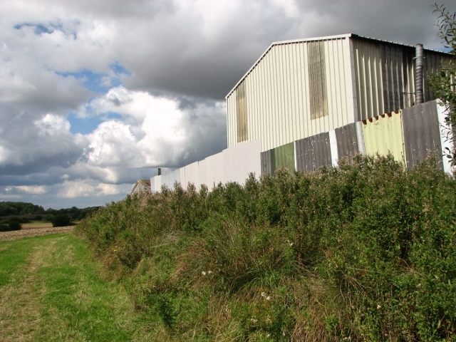 Large shed at Church Farm