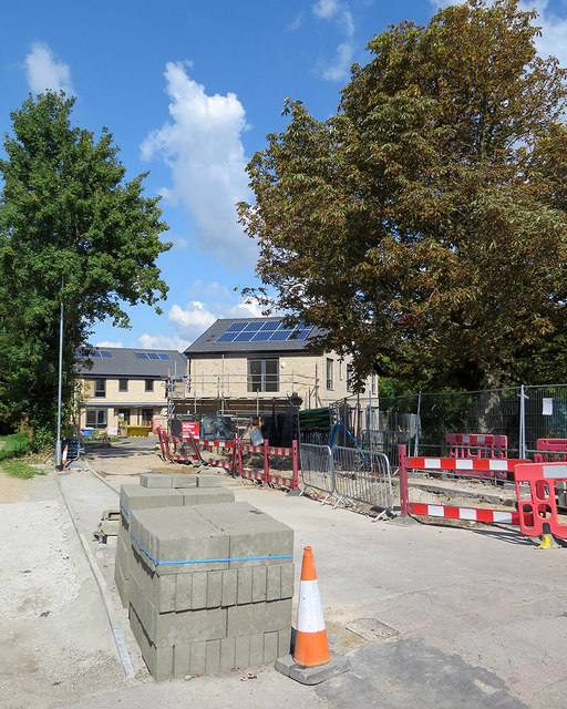 Cherry Hinton: new social housing off Fulbourn Road