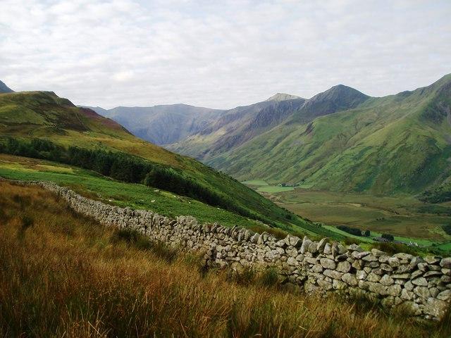 Boundary Wall on Cefn yr Orsedd