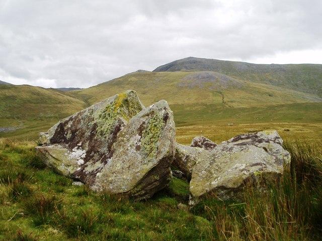 Rocks on Cefn yr Orsedd