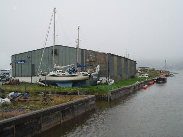 Ynyslas Boatyard