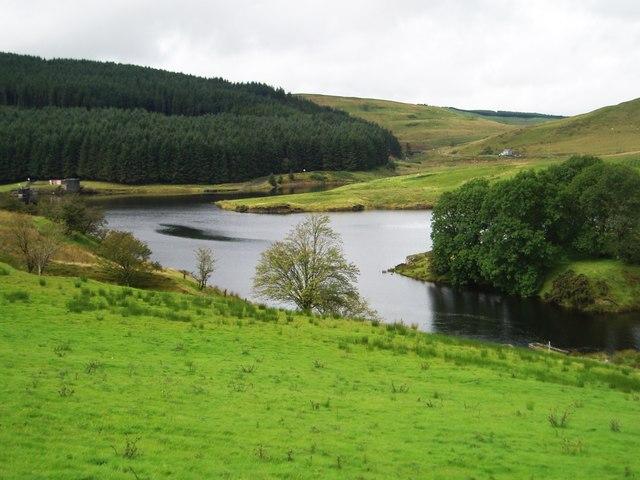 Dinas Reservoir, Ponterwyd