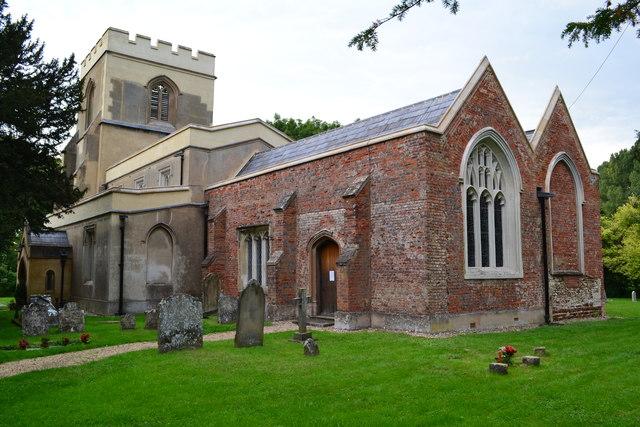 Church of St Faith, Hexton