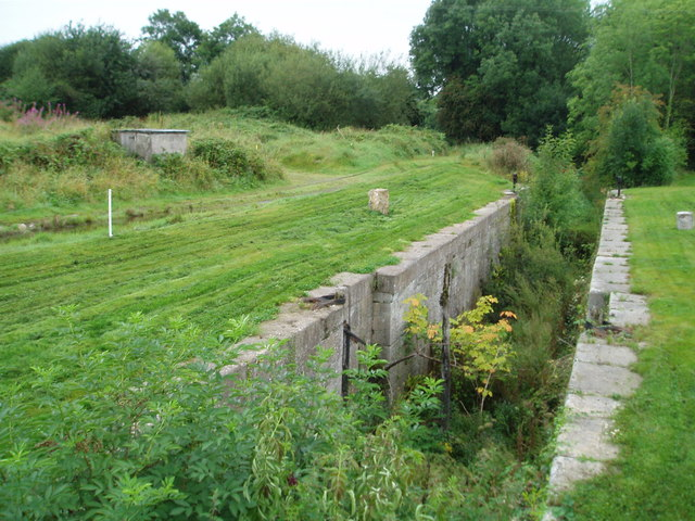 Disused Canal Lock, Tyholland