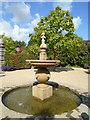TQ0107 : Water Feature - Earls Garden by Paul Gillett
