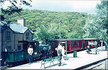 SH6742 : Dduallt Station by norman griffin
