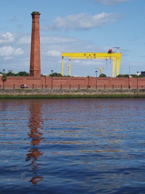 The River Lagan, Belfast