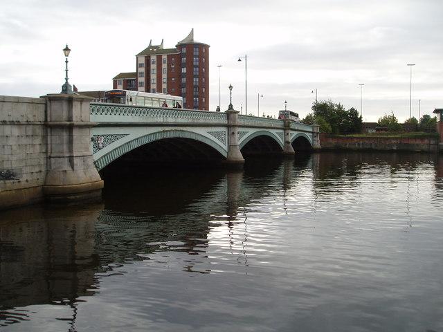 The Albert Bridge, Belfast