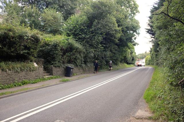 The A4136 near Longhope