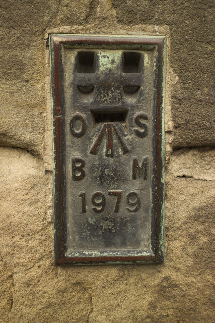 Flush Bracket Bench Mark, Alnwick Town Hall