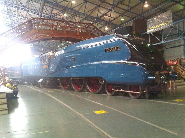 Mallard; LNER 4468