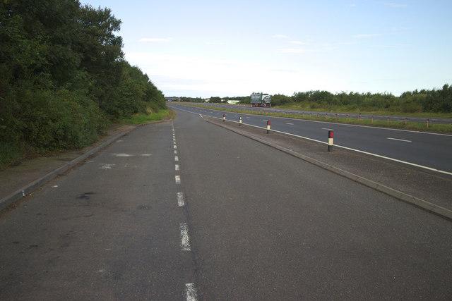 A1 Lay-by near Broxburn