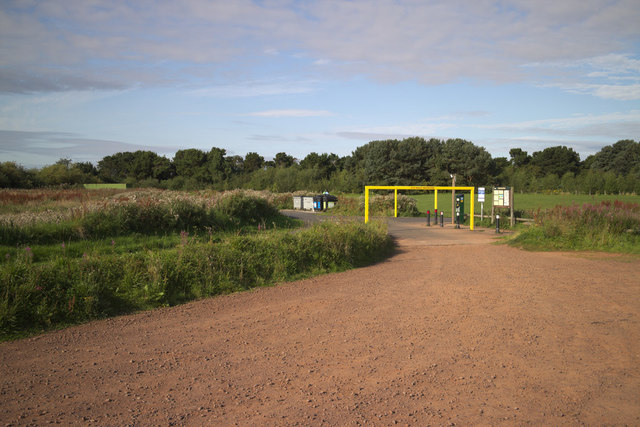 Car Park Height Restriction, Belhaven Bay