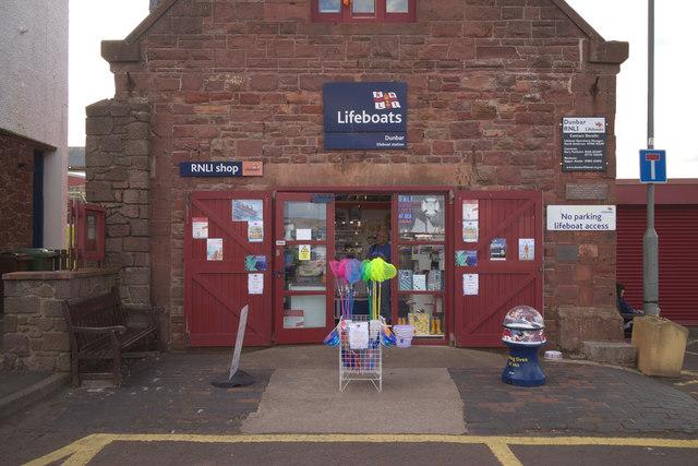 RNLI shop, Dunbar