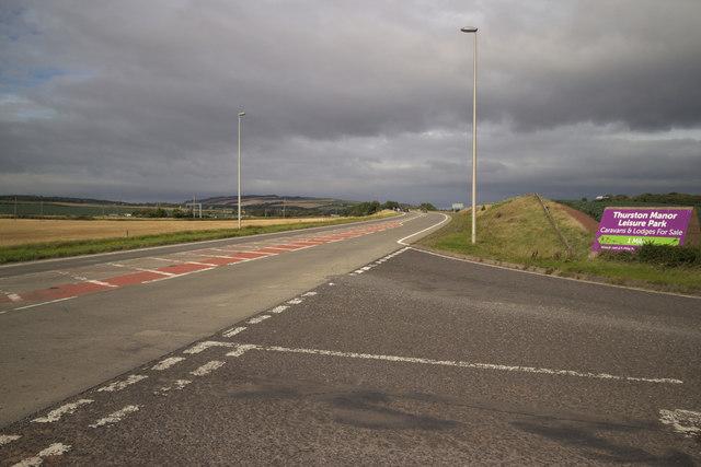 A1 near Skateraw