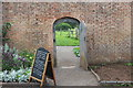 ST5071 : Eastern doorway to kitchen garden, Tyntesfield by M J Roscoe