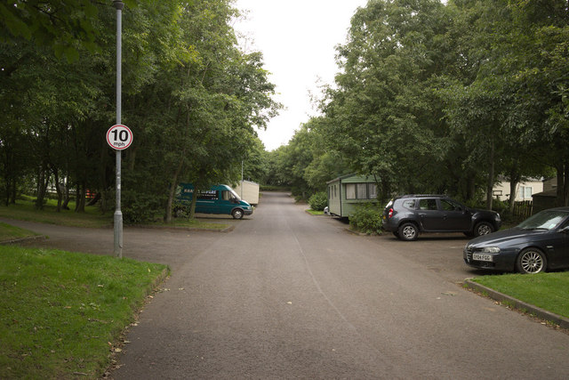 Access Road, Thurston Manor Leisure Park