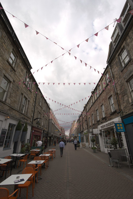 Bunting, Rose Street, Edinburgh
