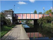 TQ2282 : Scrubbs Lane bridge over the Grand Union Canal by Gareth James