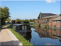 TQ2282 : Grand Union Canal near Old Oak Common by Gareth James