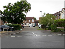SU5290 : Swarbourne Close, Didcot by Jaggery