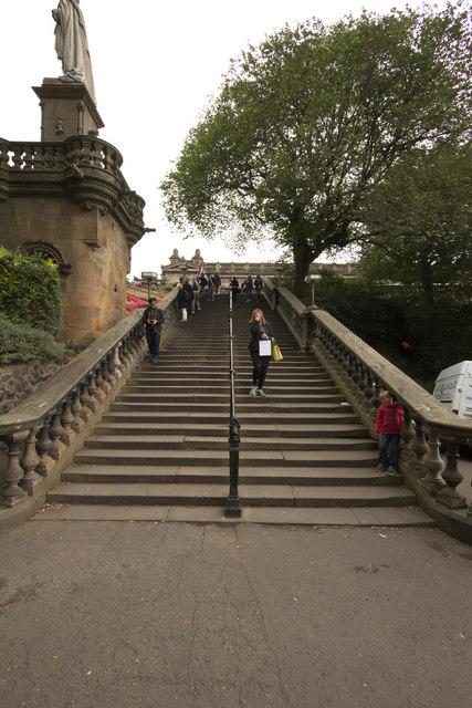 Steps, Princes Street Gardens