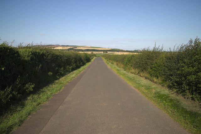 Minor Road near Corsick Hill