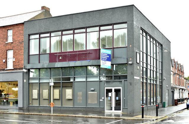 Former First Trust bank, Ballyhackamore, Belfast (September 2017)