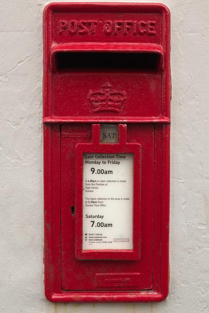 Scottish Crown Postbox, Victoria Street