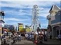 SZ6398 : Amusements on Clarence Pier by Steve Daniels