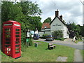 TL4933 : Former Telephone Box and Public House by Keith Evans