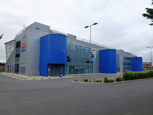 The rear of The Motorpoint Stand, The ABAX Stadium, Peterborough